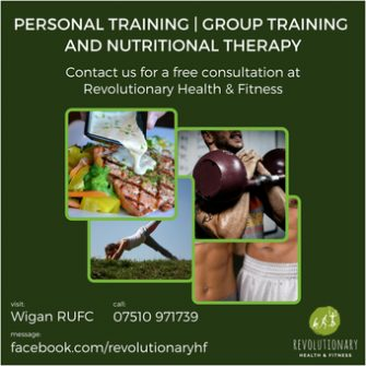 Revolutionary Health And Fitness - Wigan